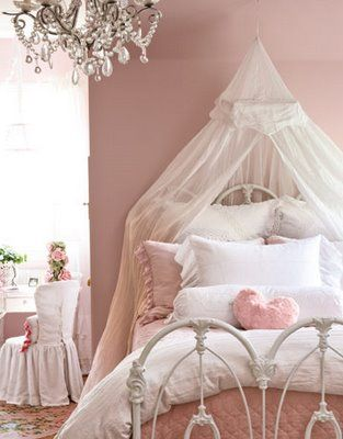 girls ceiling mount sheer bed canopy