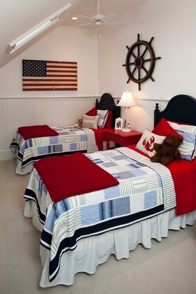 Patriotic Kids Rooms Red White Blue Kids Rooms Kidspace