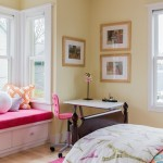Girl's Bedroom Study Desk Ideas