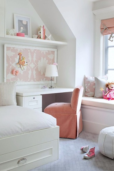 Girl 39 S Bedroom Study Desk Ideas Kidspace Interiors