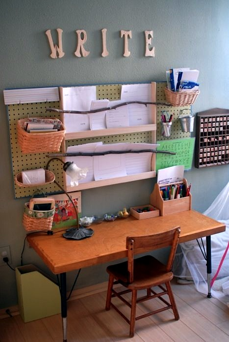 preschooler's bedroom desk ideas | home study centers | kidspace