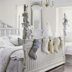 Kids' Room Christmas Ideas {Shabby Chic White}