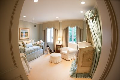 Recessed Lights Used For Baby Nursery Decoration