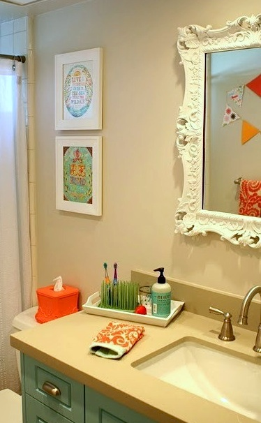 Kids Bathroom Accessories With Gr Toothbrush Holder