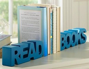 Unique Kids Room Bookends Letters