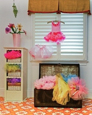Dress Up Clothes Storage In Playroom