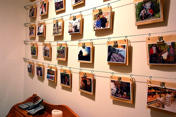creative picture display ideas - Creative Vacation Displays