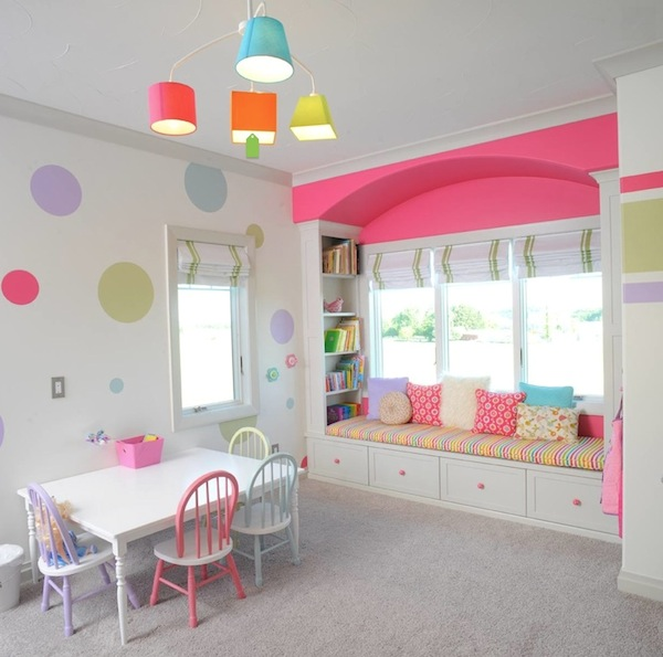 10 Awesome Window Seats Kids Room Storage Solutions